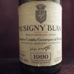 Côtes de Nuits唯一のGrand Cru幻のMusigny Blanc